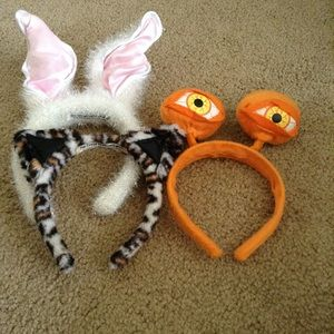 Bundle of 3 costume headbands